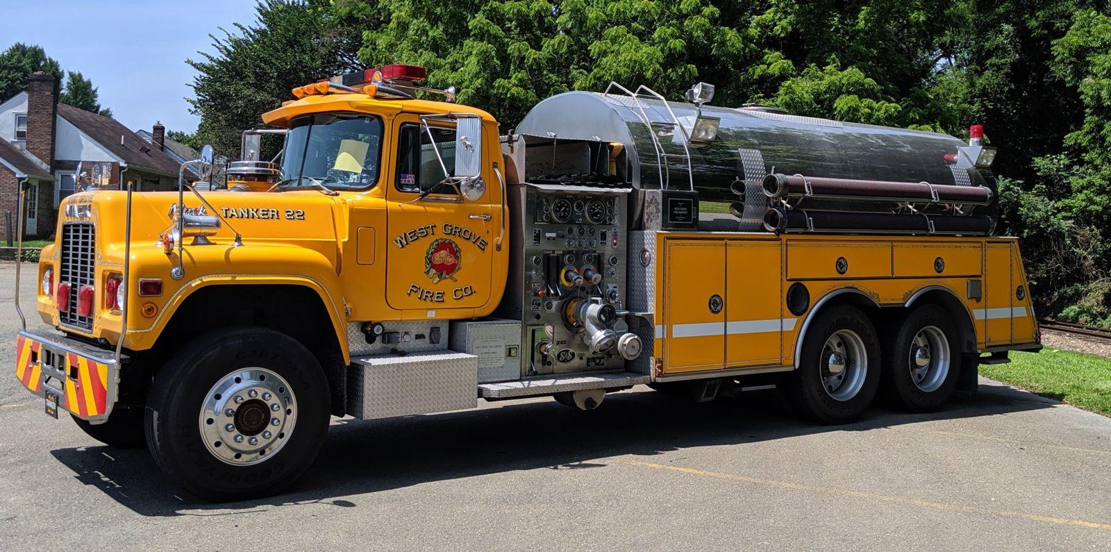West Grove Fire Company - Chester County, Pennsylvania