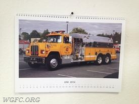 The tanker graced a calendar in the month of June on a calendar in Germany.