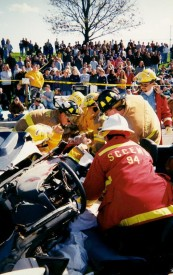 Extrication at Mock Crash, Avon Grove High School, 1998