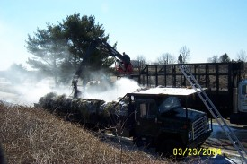 March, 2004 Truck Fire Route 1