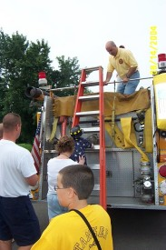 Fire Truck Rides at Station 12 Open House