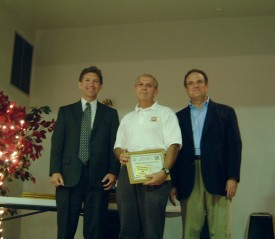 """Dan Eichinger, recipient of a Chester County """"Clinical Save Commendation"""". Award given when CPR and/or AED saves a life."""