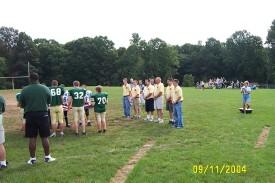 Assumption BVM Football 9-11 Ceremony