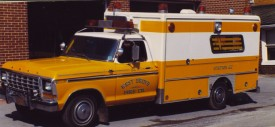 Early WGFC Ambulance