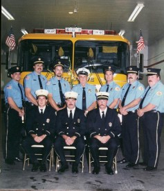 Officers at the 1998 Parade & Housing