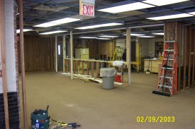 Meeting room renovation at Station 22