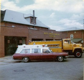 Pontiac Ambulance and new Tanker