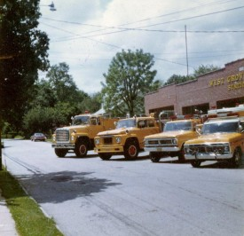 The yellow fleet emerges in 1964