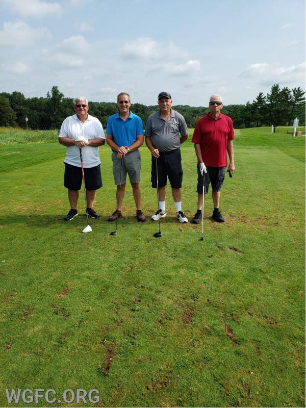 Serious golfers.