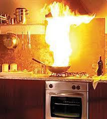 Kitchen fires can happen when no one is home -- as happened in Penn and London Britain Townships recently.