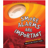 The NFPA has materials just for kids to help them learn about smoke detectors on their website.