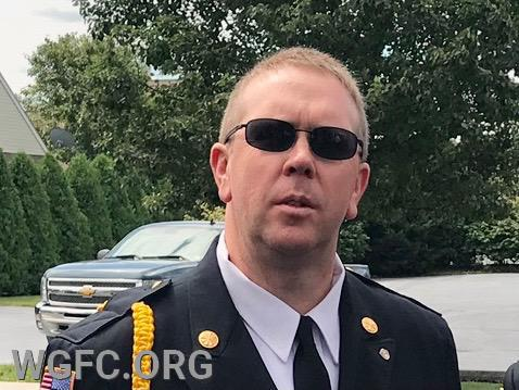 Neil Vaughn was elected President of the West Grove Fire Company for 2021 at the company's December meeting this week.
