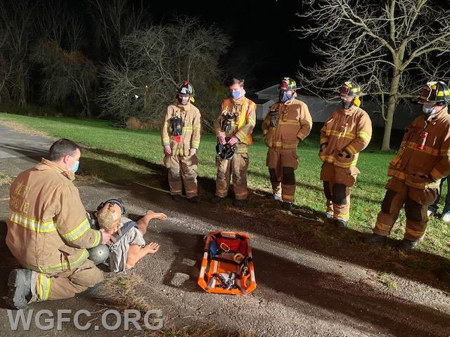 Training teaches new methods, like the use of FAST boards for firefighter rescue.