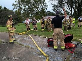 A strong focus on training is a core operations principle at the West Grove Fire Company.