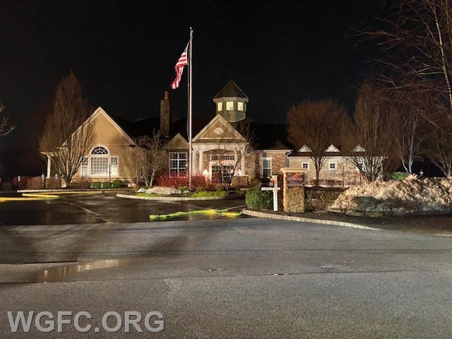 The Community Center at Ovations at Elk View was the scene of a gas leak on Christmas morning for WGFC fire crews.