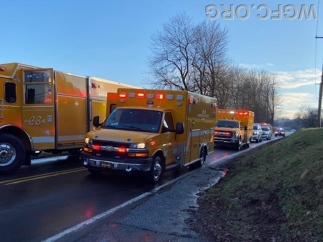 Rescue 22 and both WGFC ambulances are on scene on Oxford Road near Mt. Hope Road.