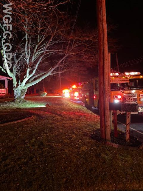 WGFC crews responded to Rosehill Road in London Grove for a CO-alarm call.