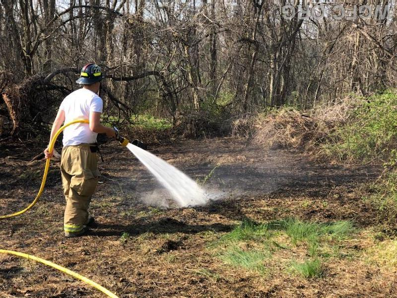 """Two 1"""" wildfire lines were used in Penn Township."""