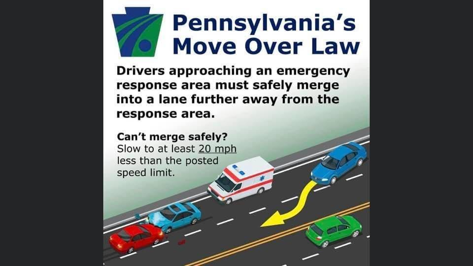 The safety of emergency responders on our roads and highways is very important.  A new law went into effect on April 27, 2021 to add emphasis to this safety issue.