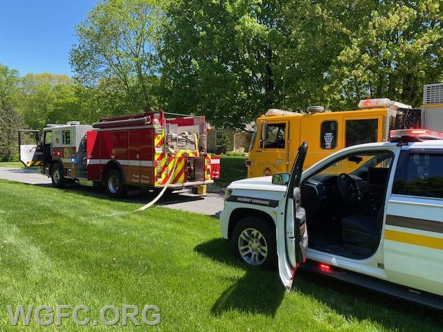 Engine 22-3 laid the supply line in from Route 896 to supply the first arriving Engine from Newark, Engine 9-4.