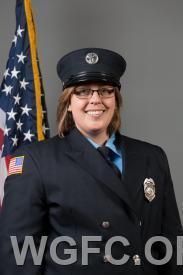 EMT Chrissy Miller was honored.