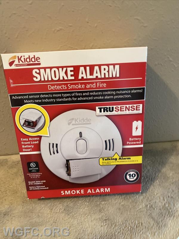 Kidde has recalled smoke alarms and combination smoke/carbon monoxide alarms sold in 2019 and 2020.  These units may not alert in a fire, and should be replaced immediately.