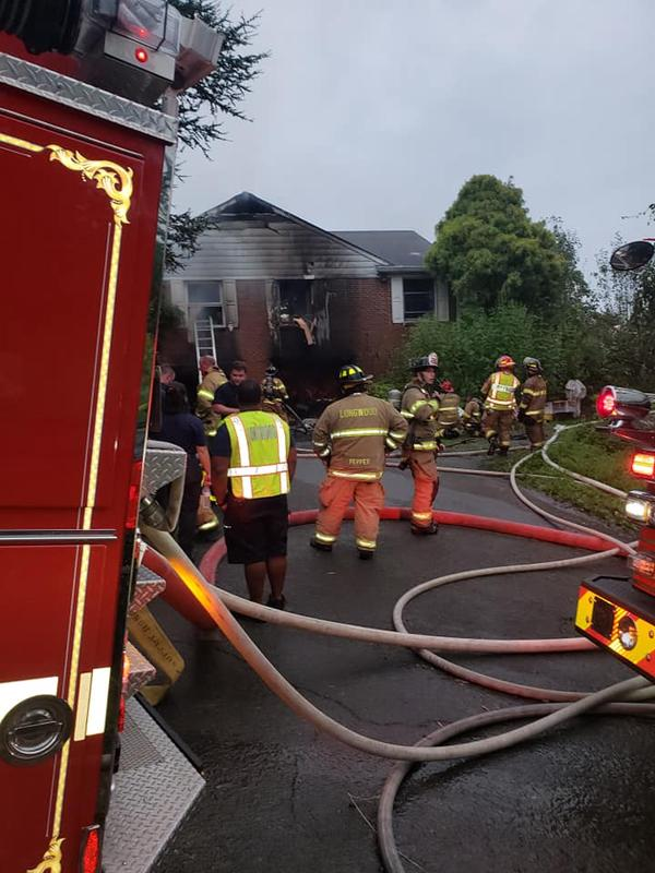 Multiple attack hoselines were used to knock down a fire that needed extended overhaul requiring a second alarm.