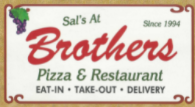 Our thanks to Brothers Pizza & Restaurant for their continued support of the WGFC.