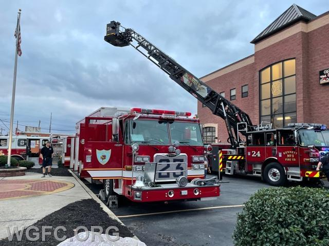 Kennett Square's Tower 24 displays alongside Minquas' Heavy Rescue.
