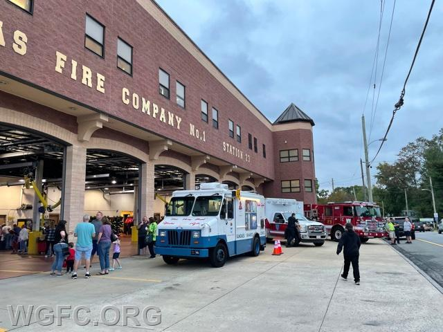 Minquas Fire Company is one of New Castle County's busiest departments, and the open house featured ice cream trucks, apparatus displays, and Fire Prevention activities for children.