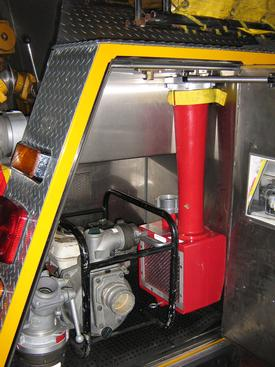 The new TurboDraft stored in place on Tanker 22.