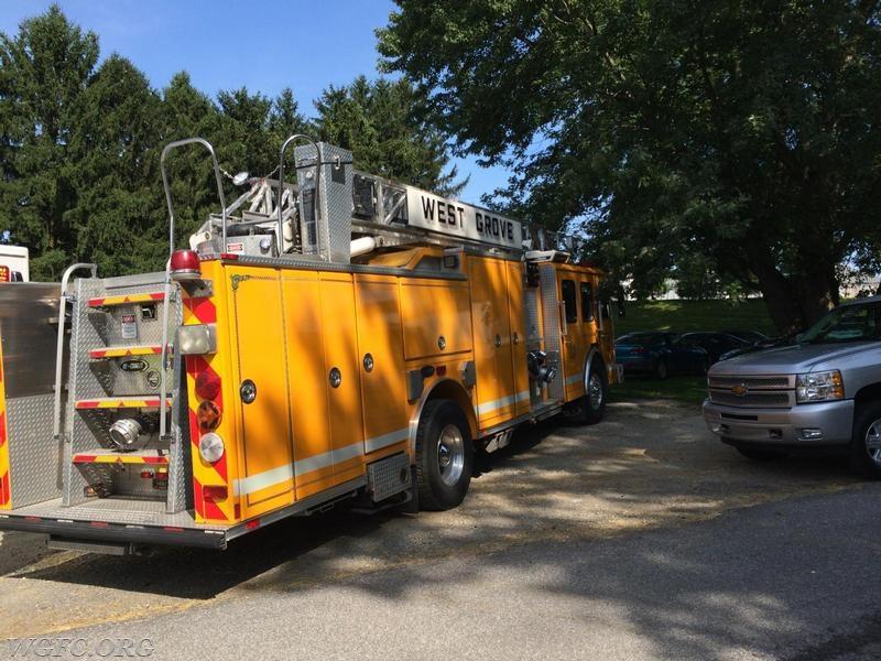 Wgfc Assists Avondale Fire Company West Grove Fire Company
