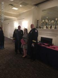 EMS Captain Hughes honored for a second successful cardiac arrest save