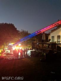 Ladder 22's unique main lighting system is visible in this shot.