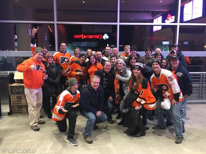 West Grove Fire Company members, employees, family and friends enjoyed a great Philadelphia Flyers game, while being honored as First Responders by the Flyers