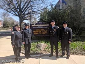 Firefighter Tom Glass, Firefighter/EMT Lisa Glass, Firefighter Danny O'Connell, Firefighter/EMT Adam Zwislewski