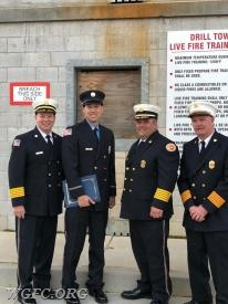 FF Oyler with the three Chiefs