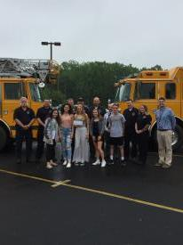 Fred S. Engle Middle School students chose the West Grove Fire Company as their charity to support this year, and recently presented their donation to fire company members.   Thank you for this important donation.