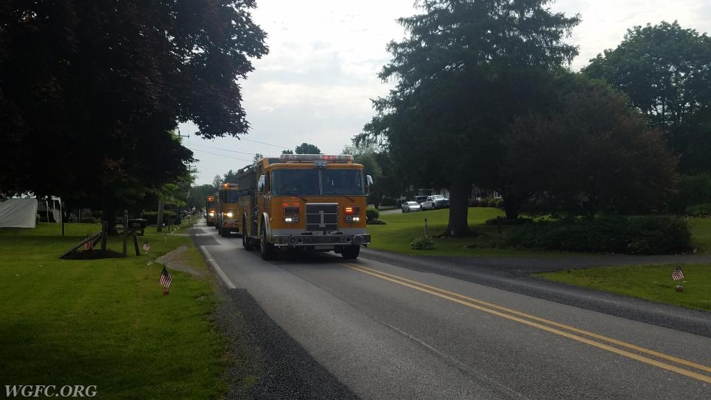 Engine 22-1 on State Road
