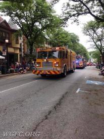 Rescue 22 in downtown Kennett