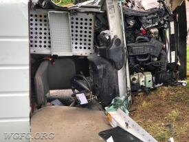 WGFC rescue crews used tools to pull the dash up off the driver's legs.