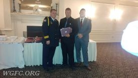 Sgt. Cazillo receiving a clinical save commendation