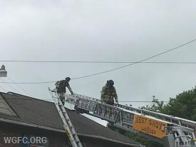 Firefighters on Ladder 22.