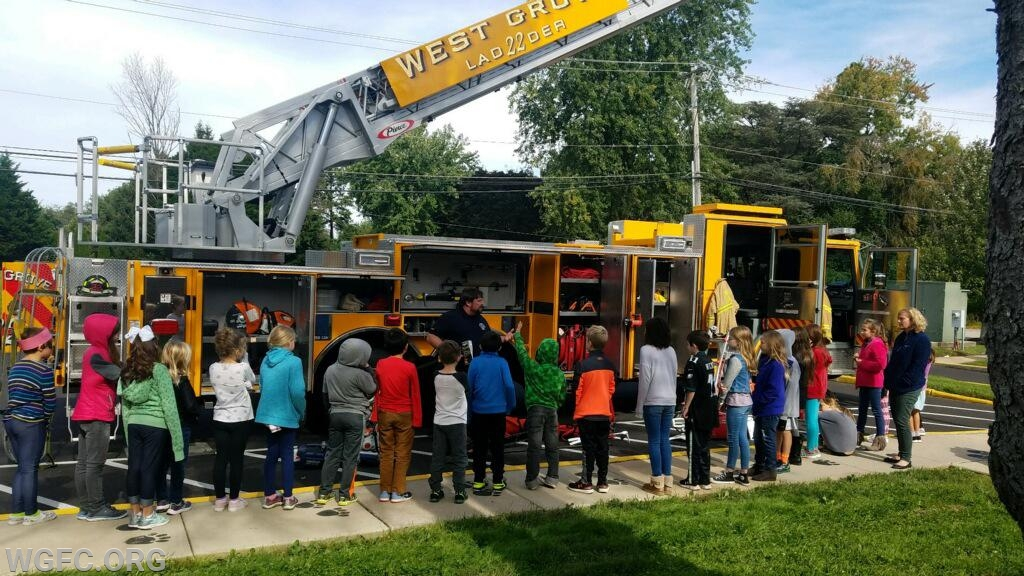 Fire Prevention Month is wrapping up, but not before more than 5000 students in the community got fire safety education from members of the West Grove Fire Company.