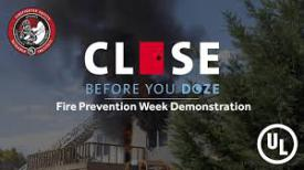 The WGFC joins efforts to promote #CloseBeforeYouDoze campaign, teaching people why closed bedroom doors can save lives.