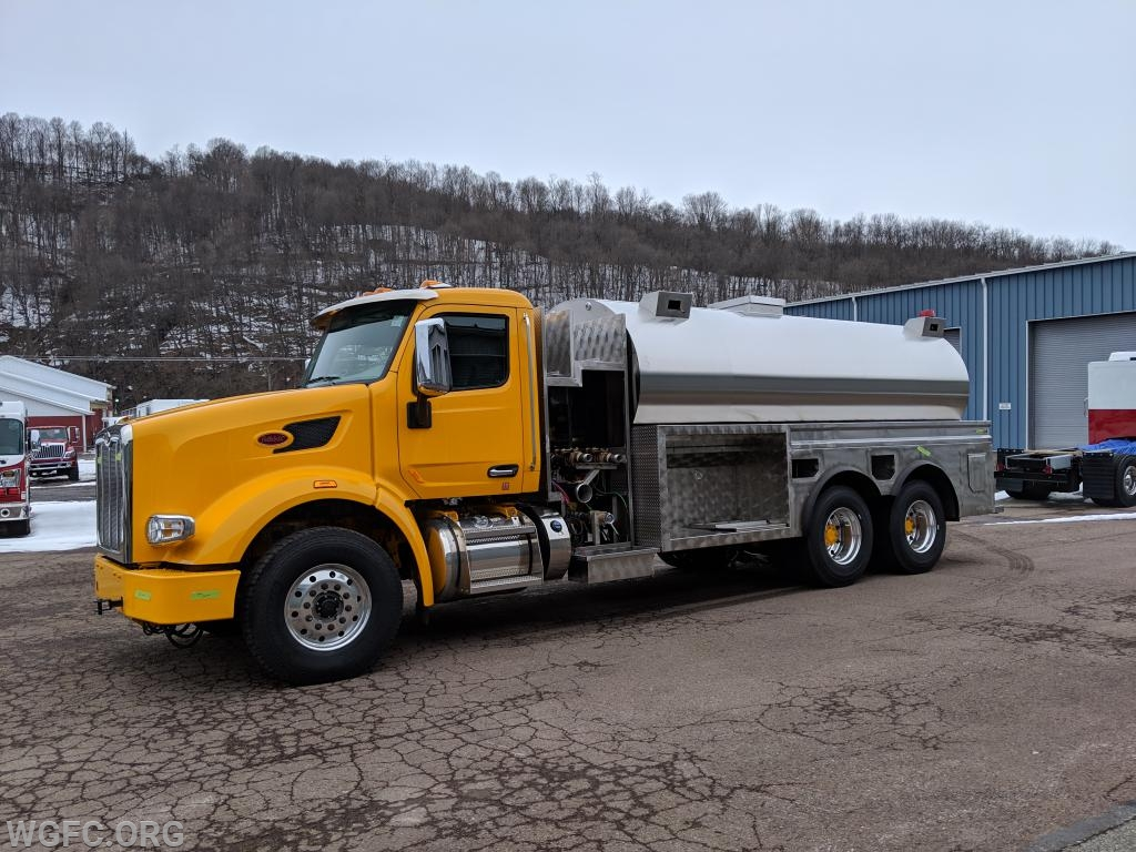The WGFC's new tank truck is taking shape at 4-Guys in western Pennsylvania, seen here in this week's inspection trip.