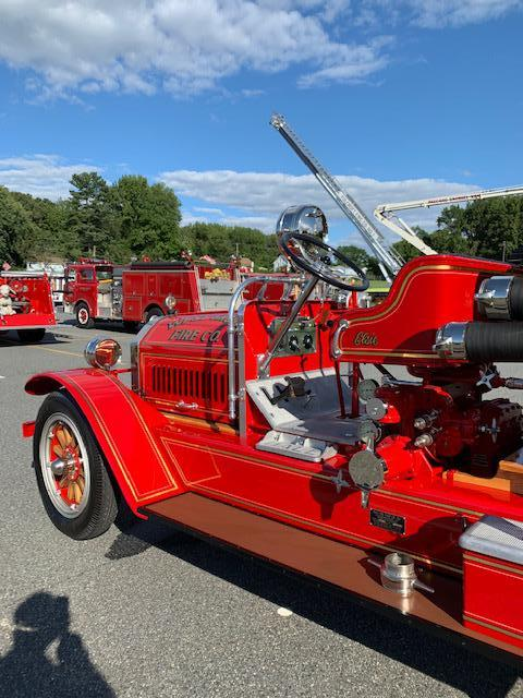 WGFC's Elsie (Antique 22) is on display at an Antique Fire Apparatus Muster held at the Singerly Fire Company of Elkton, MD in partnership with the National Fallen Firefighters Foundation and the National Fire Heritage Center.