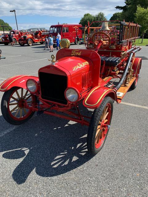 This 1910 pumper from West Haven, CT