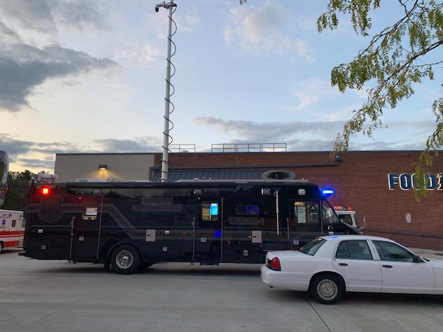 New Castle County 911 Mobile Communications Truck