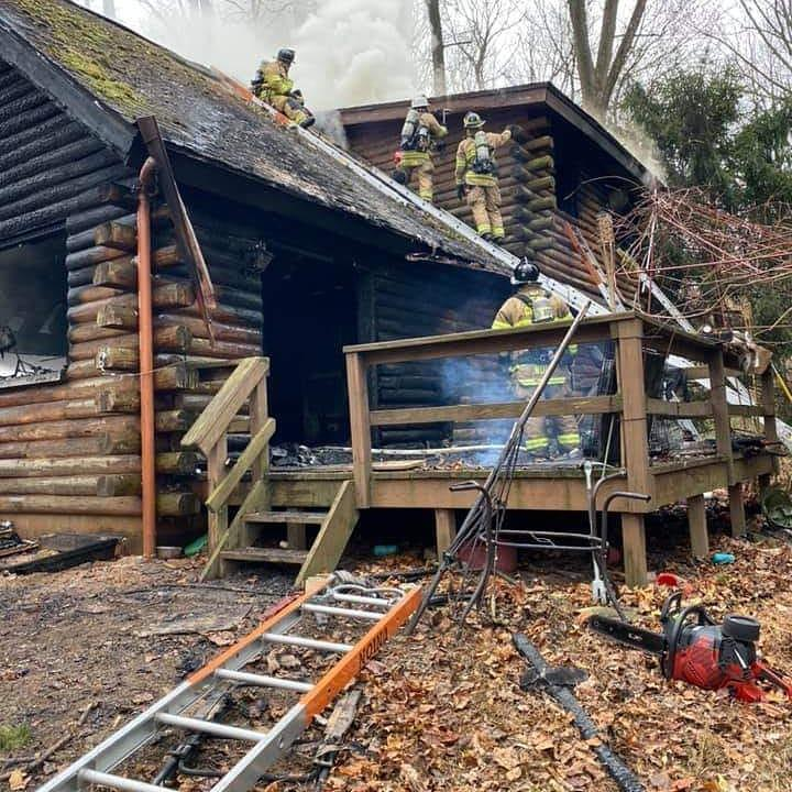 Crews work to find fire hotspots
